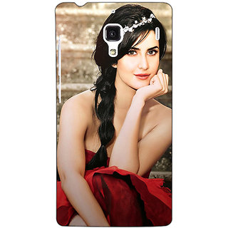 Jugaaduu Bollywood Superstar Katrina Kaif Back Cover Case For Redmi 1S - J250995
