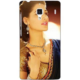 Jugaaduu Bollywood Superstar Nargis Fakhri Back Cover Case For Redmi 1S - J250997
