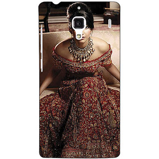 Jugaaduu Bollywood Superstar Sonam Kapoor Back Cover Case For Redmi 1S - J251000