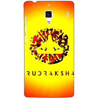 Jugaaduu Rudraksha Back Cover Case For Redmi 1S - J251264