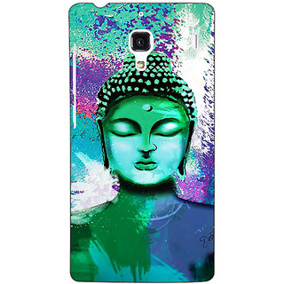 Jugaaduu Gautam Buddha Back Cover Case For Redmi 1S - J251265