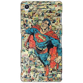 Jugaaduu Superheroes Superman Back Cover Case For Sony Xperia Z3 - J260038