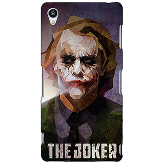 Jugaaduu Villain Joker Back Cover Case For Sony Xperia Z3 - J260049