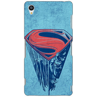 Jugaaduu Superheroes Superman Back Cover Case For Sony Xperia Z3 - J260387