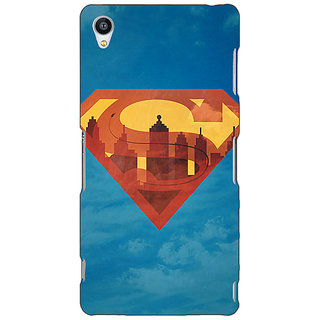 Jugaaduu Superheroes Superman Back Cover Case For Sony Xperia Z3 - J260388