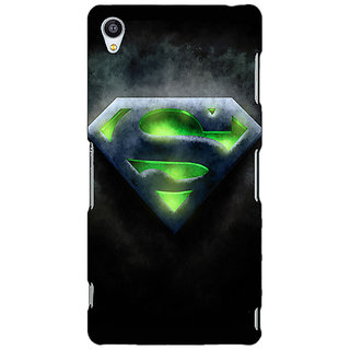 Jugaaduu Superheroes Superman Back Cover Case For Sony Xperia Z3 - J260389