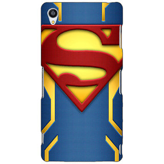 Jugaaduu Superheroes Superman Back Cover Case For Sony Xperia Z3 - J260390