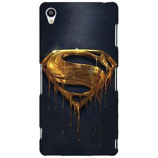Jugaaduu Superheroes Superman Back Cover Case For Sony Xperia Z3 - J260391