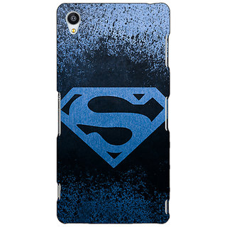 Jugaaduu Superheroes Superman Back Cover Case For Sony Xperia Z3 - J260393