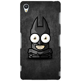 Jugaaduu Big Eyed Superheroes Batman Back Cover Case For Sony Xperia Z3 - J260395
