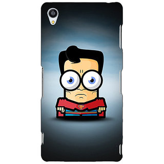 Jugaaduu Big Eyed Superheroes Superman Back Cover Case For Sony Xperia Z3 - J260397