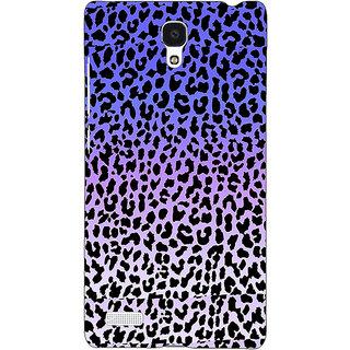 Jugaaduu Cheetah Leopard Print Back Cover Case For Redmi Note 4G - J240082