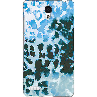 Jugaaduu Cheetah Leopard Print Back Cover Case For Redmi Note 4G - J240086