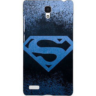 Jugaaduu Superheroes Superman Back Cover Case For Redmi Note 4G - J240393