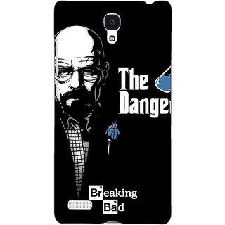 Jugaaduu Breaking Bad Heisenberg Back Cover Case For Redmi Note 4G - J240406