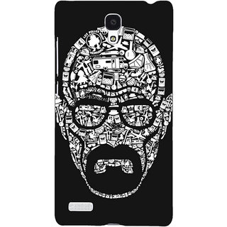 Jugaaduu Breaking Bad Heisenberg Back Cover Case For Redmi Note 4G - J240407