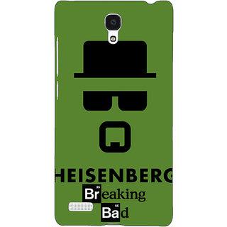 Jugaaduu Breaking Bad Heisenberg Back Cover Case For Redmi Note 4G - J240414