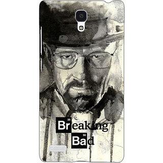 Jugaaduu Breaking Bad Heisenberg Back Cover Case For Redmi Note 4G - J240419