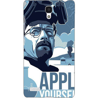 Jugaaduu Breaking Bad Heisenberg Back Cover Case For Redmi Note 4G - J240424