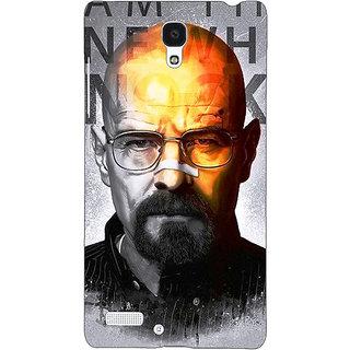 Jugaaduu Breaking Bad Heisenberg Back Cover Case For Redmi Note 4G - J240429