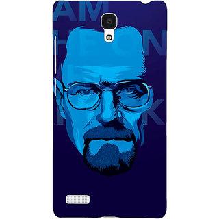 Jugaaduu Breaking Bad Heisenberg Back Cover Case For Redmi Note 4G - J240431