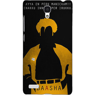 Jugaaduu Rajni Rajanikant Back Cover Case For Redmi Note 4G - J241481