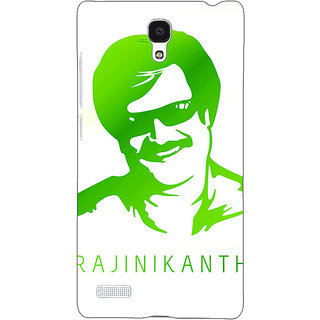 Jugaaduu Rajni Rajanikant Back Cover Case For Redmi Note 4G - J241492