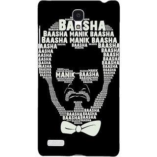 Jugaaduu Rajni Rajanikant Back Cover Case For Redmi Note 4G - J241494