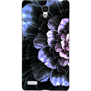 Jugaaduu Abstract Flower Pattern Back Cover Case For Redmi Note 4G - J241512