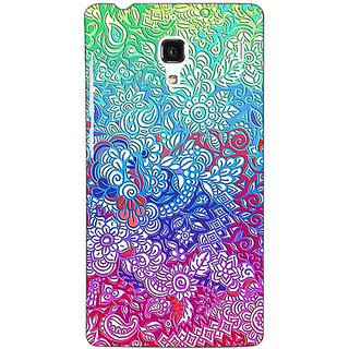 Jugaaduu Flower Gardens Pattern Back Cover Case For Redmi 1S - J250249