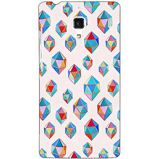 Jugaaduu Diamonds of Dreams Pattern Back Cover Case For Redmi 1S - J250251