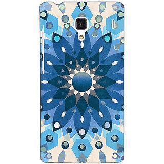 Jugaaduu Dream Flower Pattern Back Cover Case For Redmi 1S - J250255