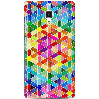 Jugaaduu Hexagon Star Pattern Back Cover Case For Redmi 1S - J250280