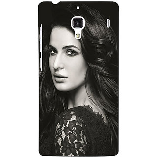 Jugaaduu Bollywood Superstar Katrina Kaif Back Cover Case For Redmi 1S - J251005