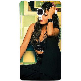 Jugaaduu Bollywood Superstar Katrina Kaif Back Cover Case For Redmi 1S - J251009