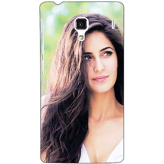 Jugaaduu Bollywood Superstar Katrina Kaif Back Cover Case For Redmi 1S - J251023