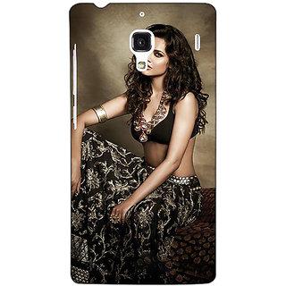 Jugaaduu Bollywood Superstar Esha Gupta Back Cover Case For Redmi 1S - J251029