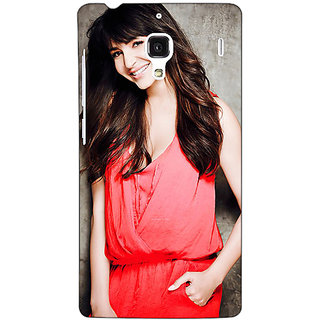 Jugaaduu Bollywood Superstar Anushka Sharma Back Cover Case For Redmi 1S - J251031