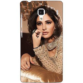 Jugaaduu Bollywood Superstar Nargis Fakhri Back Cover Case For Redmi 1S - J251057