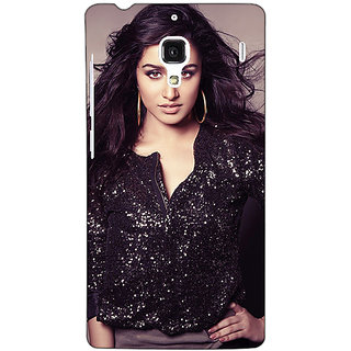 Jugaaduu Bollywood Superstar Shraddha Kapoor Back Cover Case For Redmi 1S - J251064
