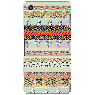 Jugaaduu Cheetah Leopard Print Back Cover Case For Sony Xperia Z3 - J260084