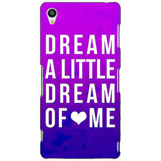 Jugaaduu Dream Love Back Cover Case For Sony Xperia Z3 - J260091