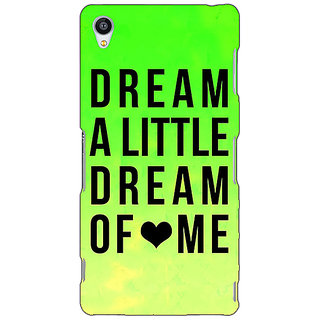 Jugaaduu Dream Love Back Cover Case For Sony Xperia Z3 - J260092