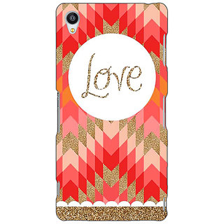 Jugaaduu Love Back Cover Case For Sony Xperia Z3 - J260096