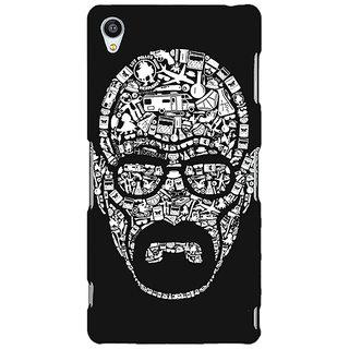 Jugaaduu Breaking Bad Heisenberg Back Cover Case For Sony Xperia Z3 - J260407