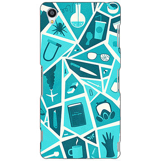 Jugaaduu Breaking Bad Back Cover Case For Sony Xperia Z3 - J260411