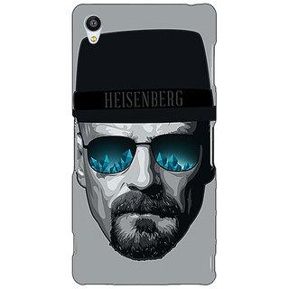 Jugaaduu Breaking Bad Heisenberg Back Cover Case For Sony Xperia Z3 - J260413