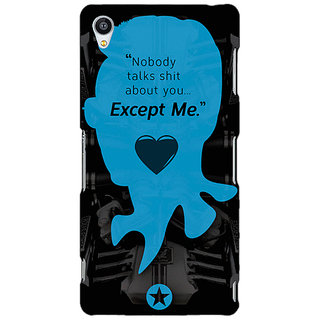 Jugaaduu Entourage E Back Cover Case For Sony Xperia Z3 - J260437