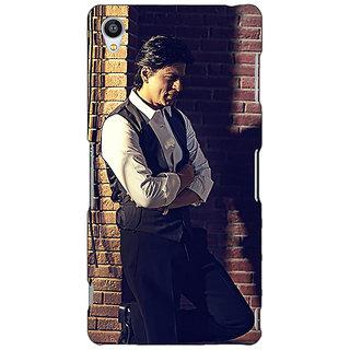 Jugaaduu Bollywood Superstar Shahrukh Khan Back Cover Case For Sony Xperia Z3 - J260916
