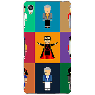 Jugaaduu Bollywood Superstar Villain Back Cover Case For Sony Xperia Z3 - J261118
